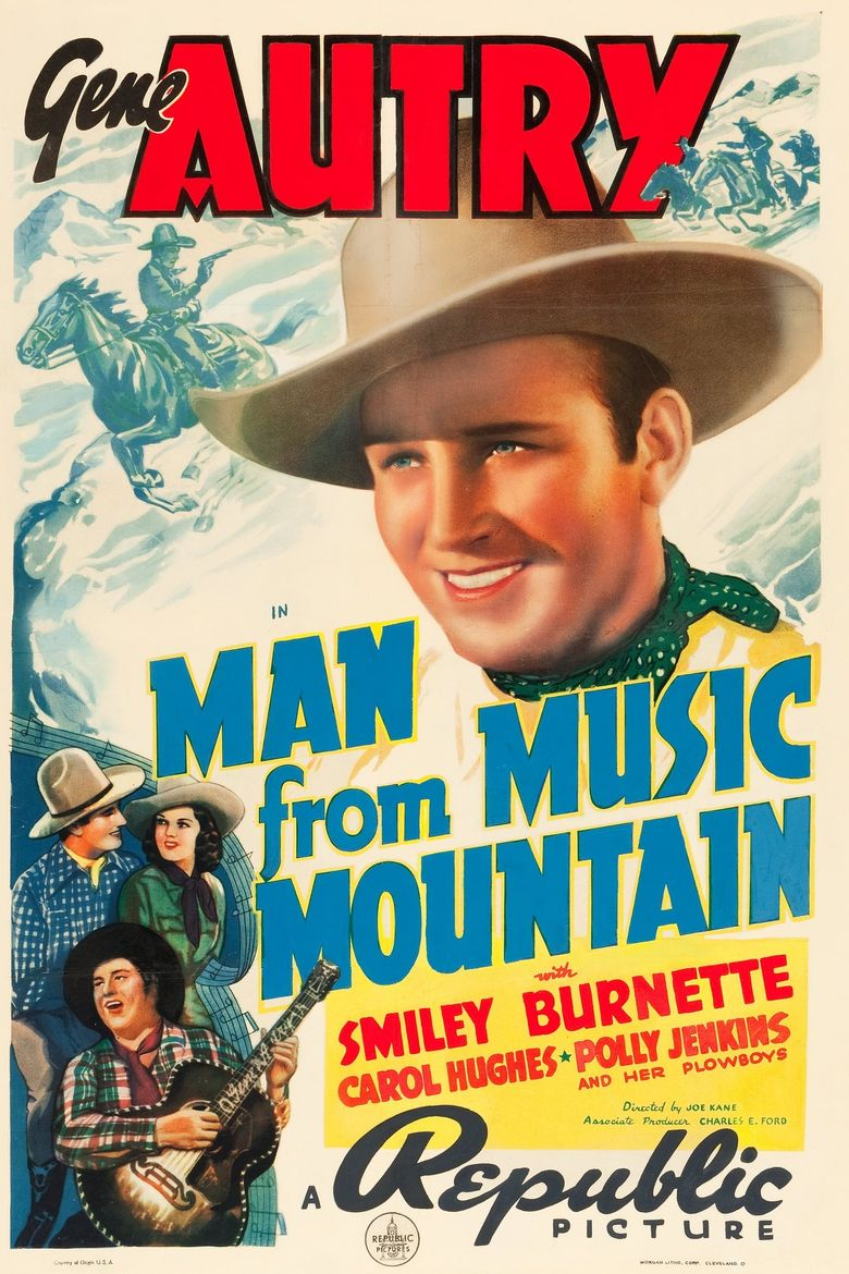 Man from Music Mountain Poster