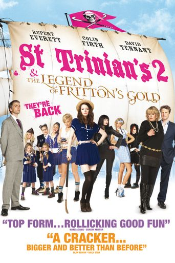 St Trinian's 2: The Legend of Fritton's Gold Poster