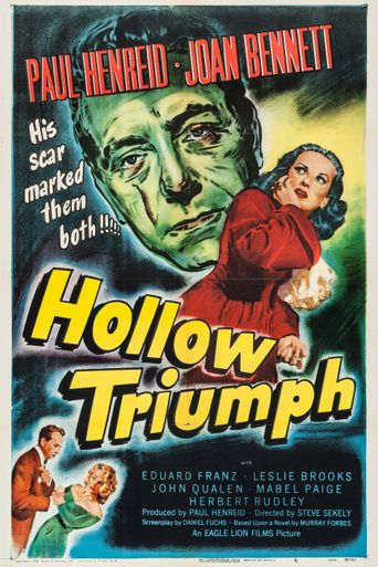 Hollow Triumph Poster
