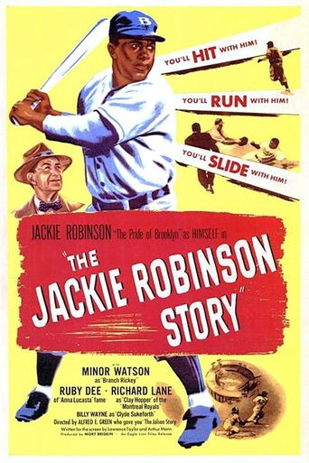 The Jackie Robinson Story Poster