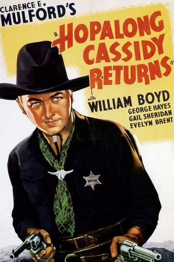 Hopalong Cassidy Returns Poster