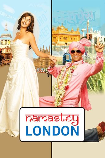 Namastey London Poster