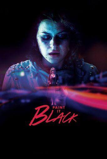 Paint It Black Poster