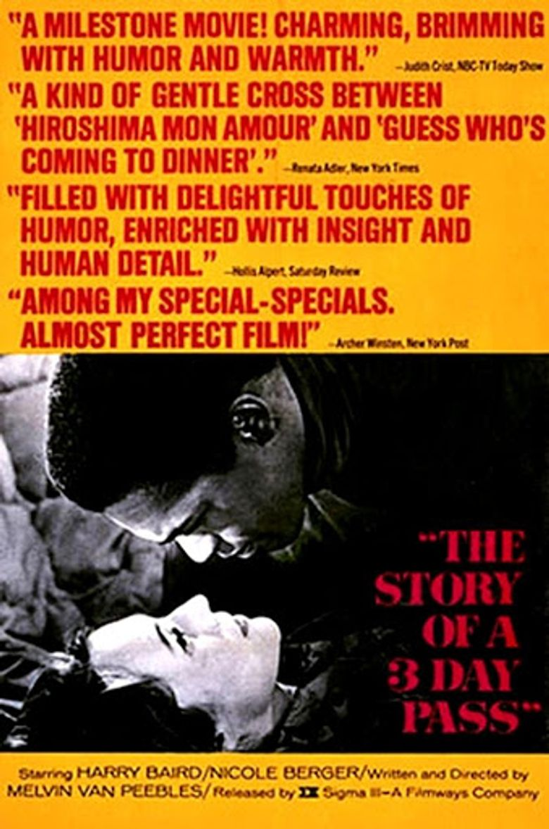 The Story of a Three-Day Pass Poster