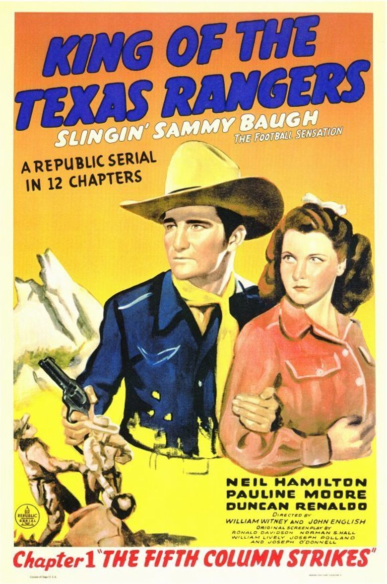 King of the Texas Rangers Poster