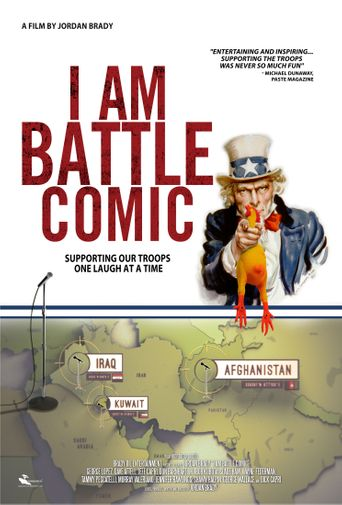 I Am Battle Comic Poster