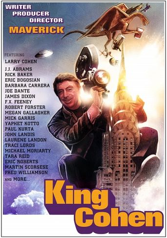 King Cohen: The Wild World of Filmmaker Larry Cohen Poster