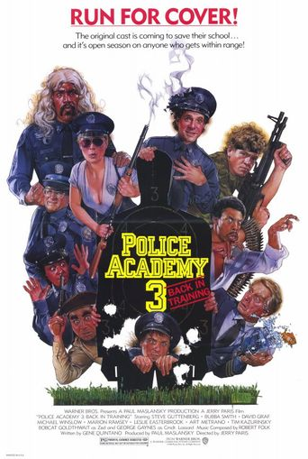 Watch Police Academy 3: Back in Training