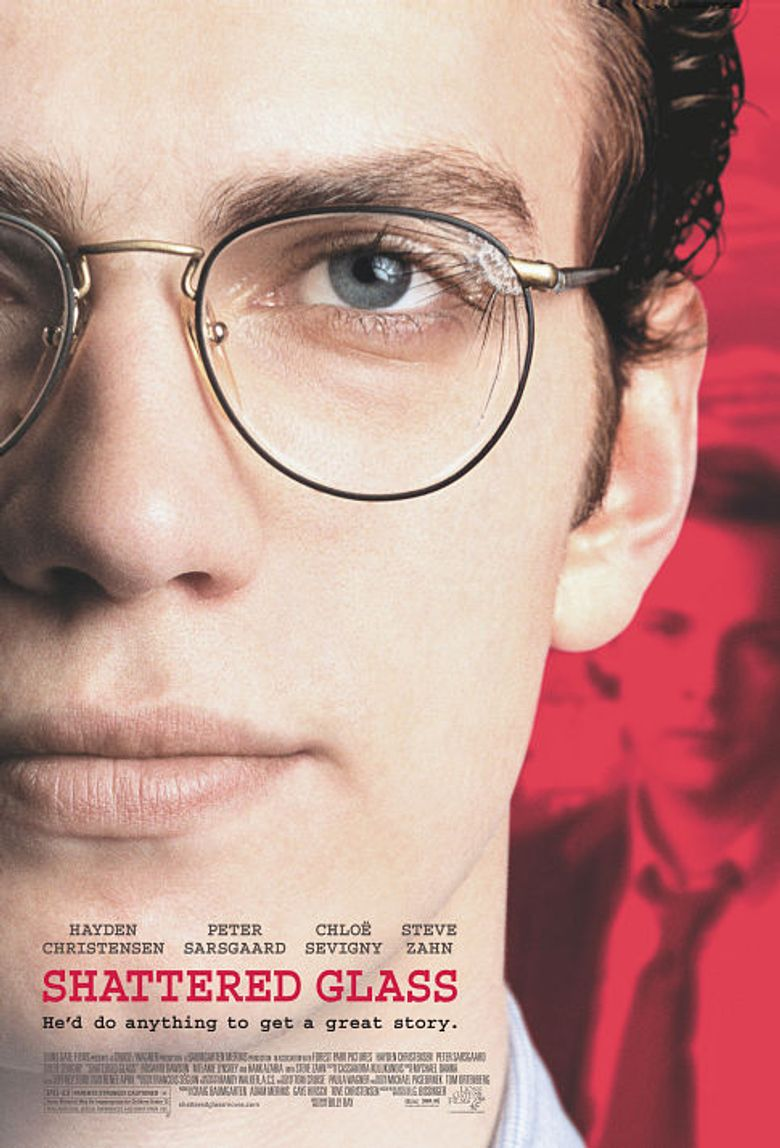 Shattered Glass Poster