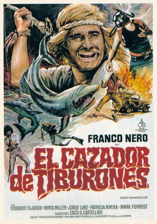 The Shark Hunter Poster