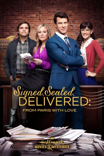 Signed, Sealed, Delivered: From Paris With Love Poster