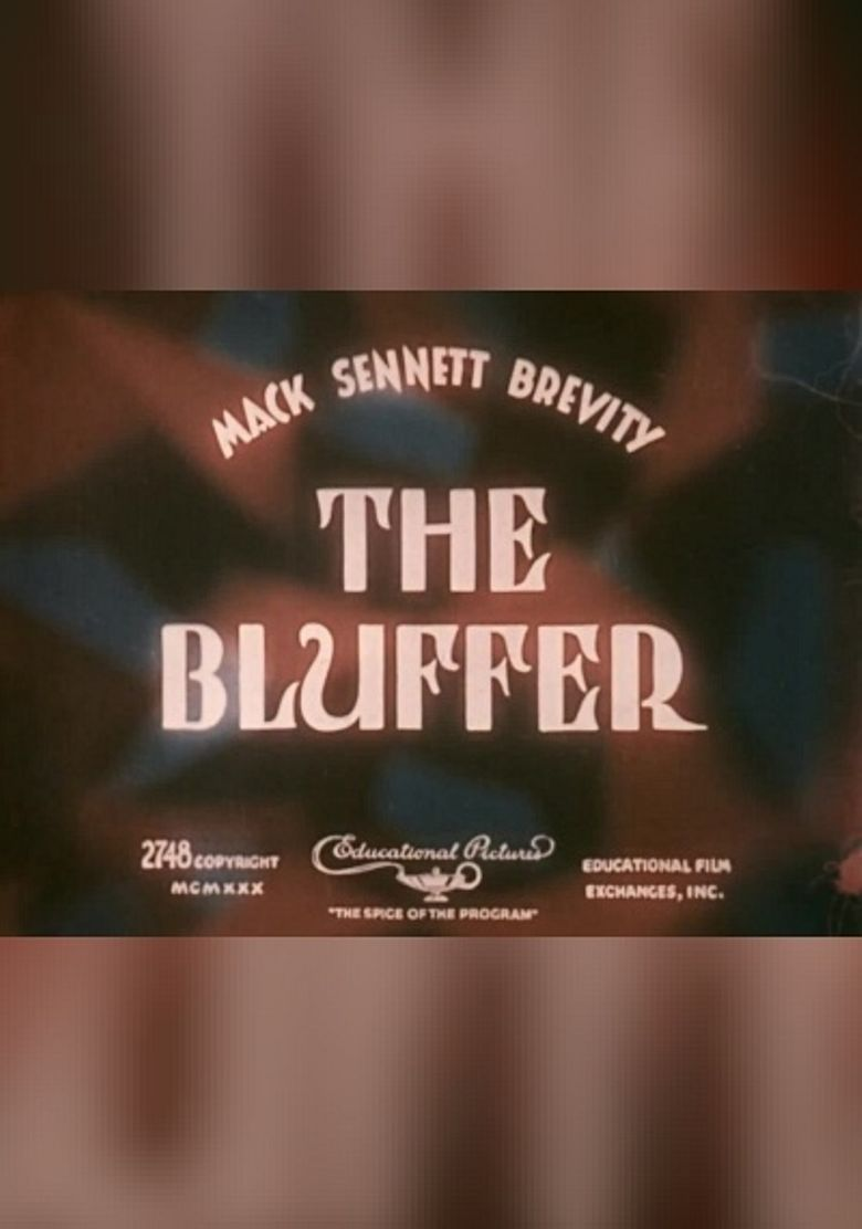 The Bluffer Poster