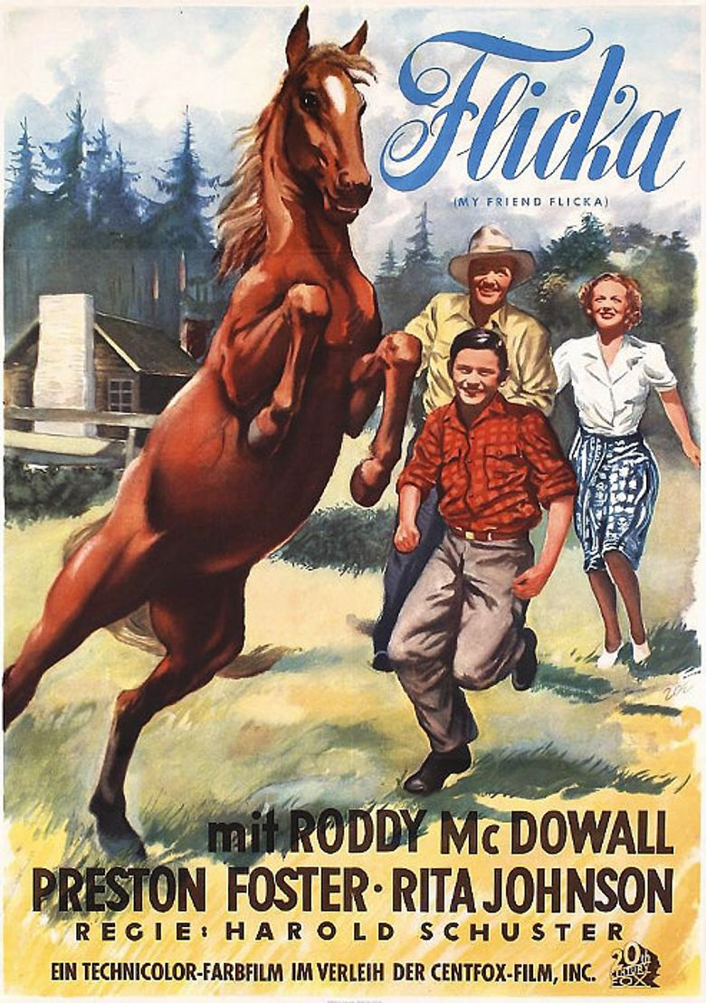 My Friend Flicka Poster