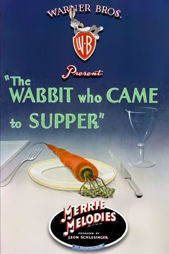The Wabbit Who Came to Supper Poster