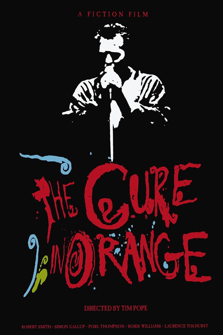 The Cure in Orange Poster