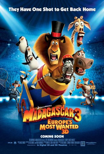Watch Madagascar 3: Europe's Most Wanted