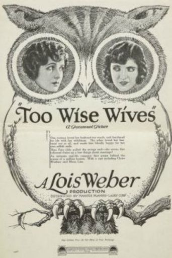 Too Wise Wives Poster