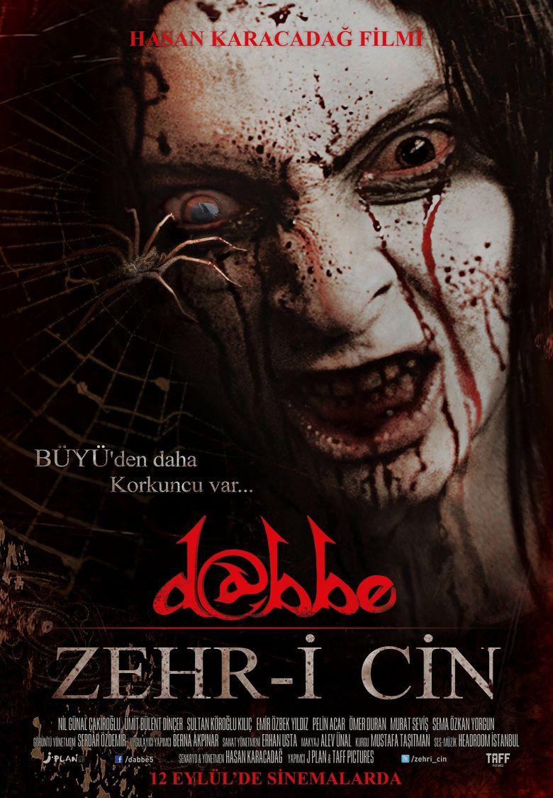 Dabbe 5: Zehr-i Cin Poster