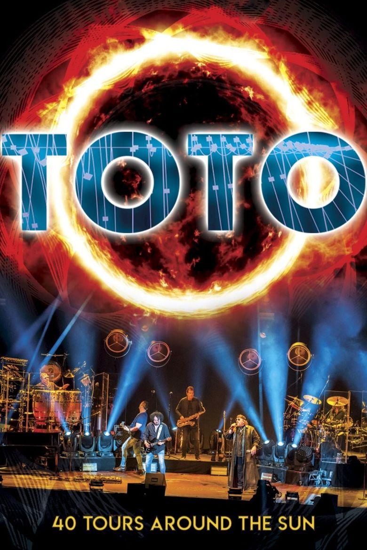 Toto: 40 Tours Around The Sun Poster