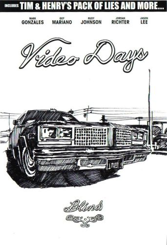 Video Days Poster