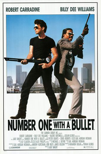 Number One with a Bullet Poster