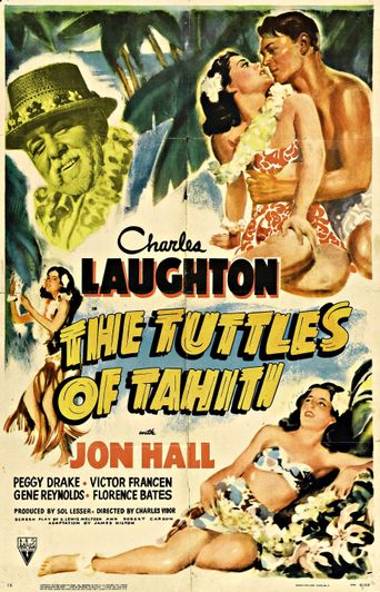 The Tuttles of Tahiti Poster