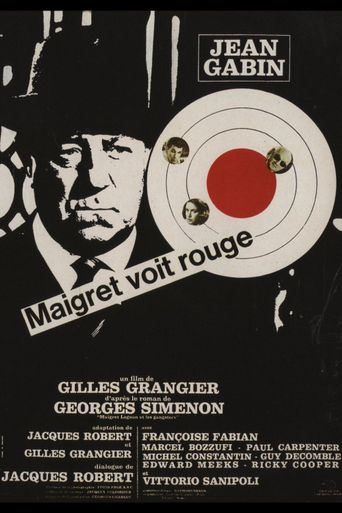 Maigret Sees Red Poster