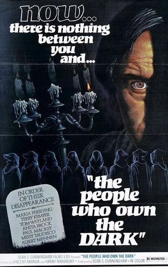The People Who Own the Dark Poster