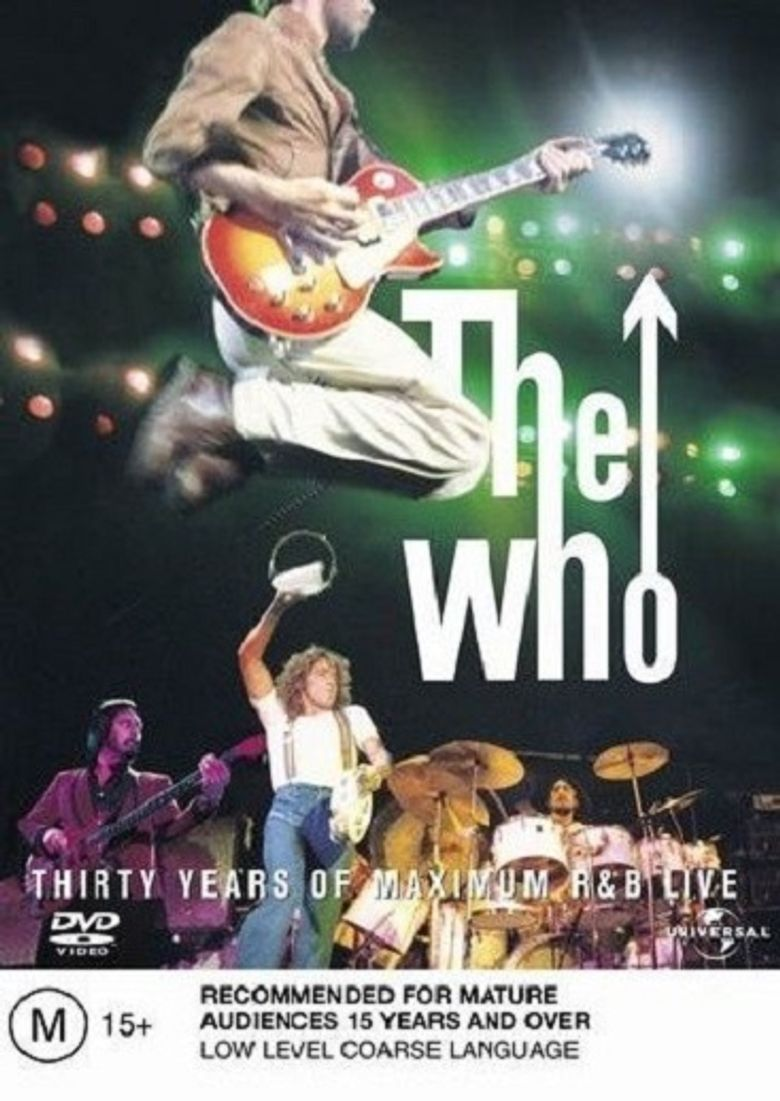 The Who: Thirty Years of Maximum R&B Poster