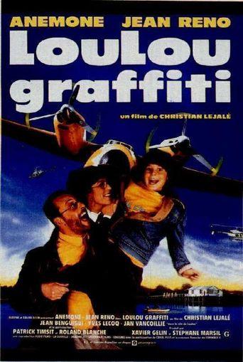 Loulou graffiti Poster