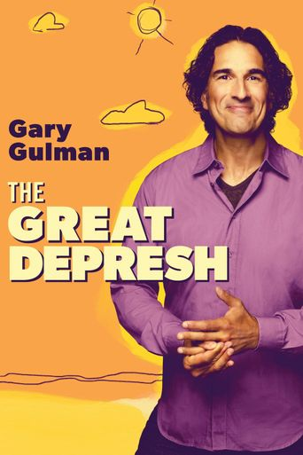 Gary Gulman: The Great Depresh Poster