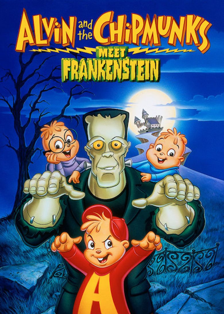 Alvin and the Chipmunks Meet Frankenstein Poster