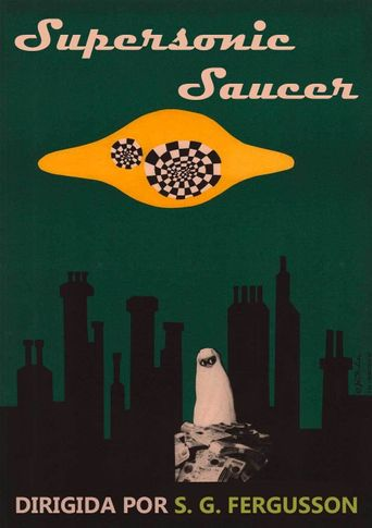 Supersonic Saucer Poster