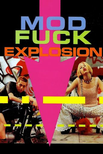 Mod Fuck Explosion Poster