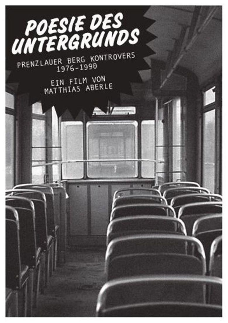 Poesie des Untergrunds Poster