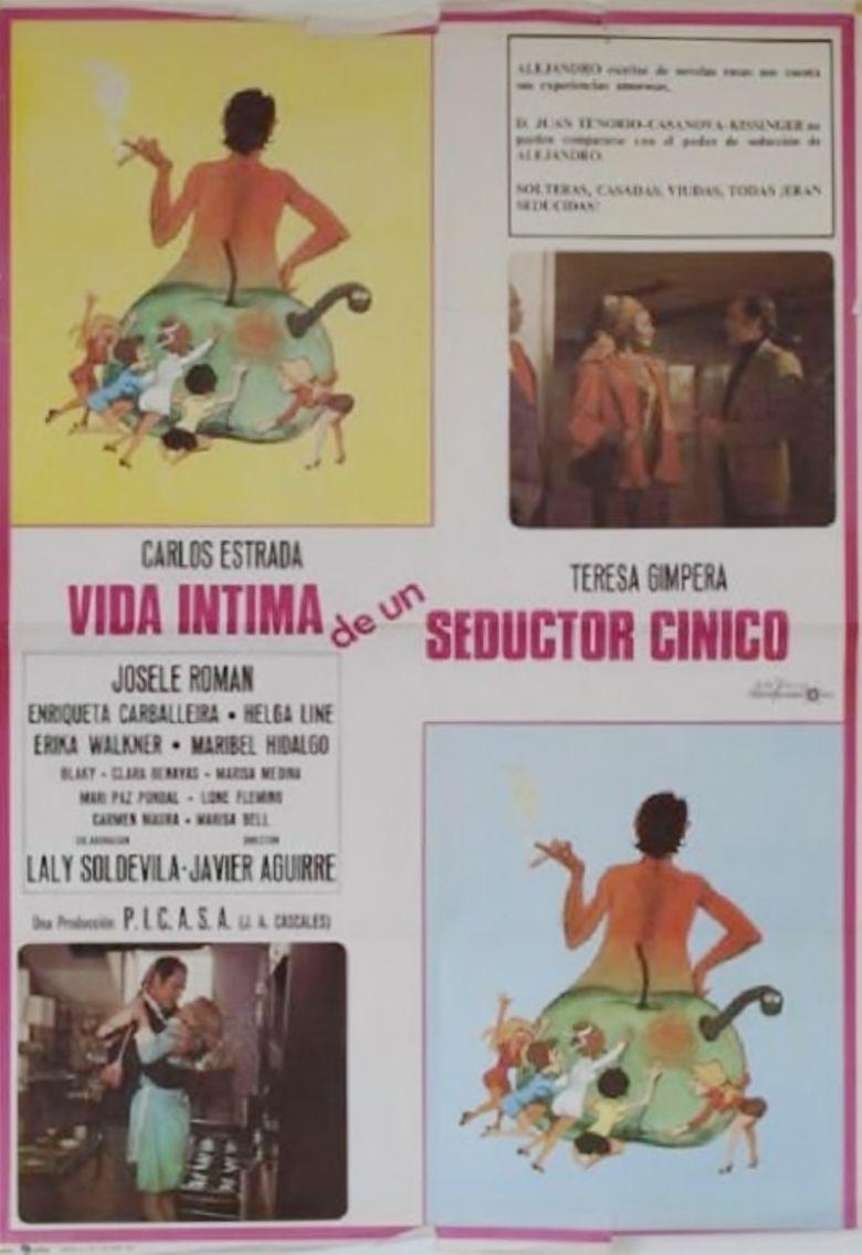 Vida íntima de un seductor cínico Poster
