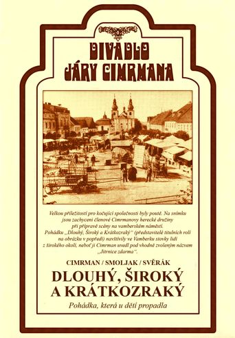 Dlouhý, Široký a Krátkozraký Poster
