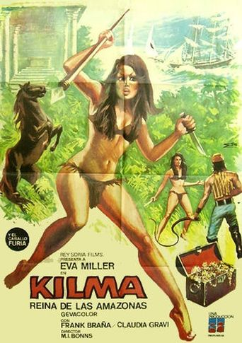 Kilma, Queen of the Amazons Poster