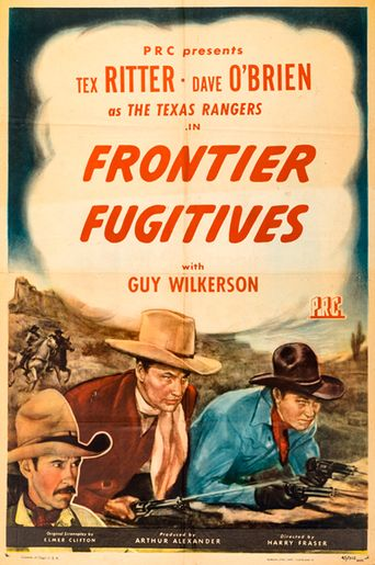 Frontier Fugitives Poster
