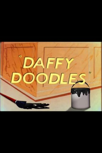Daffy Doodles Poster