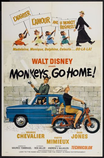 Monkeys, Go Home! Poster