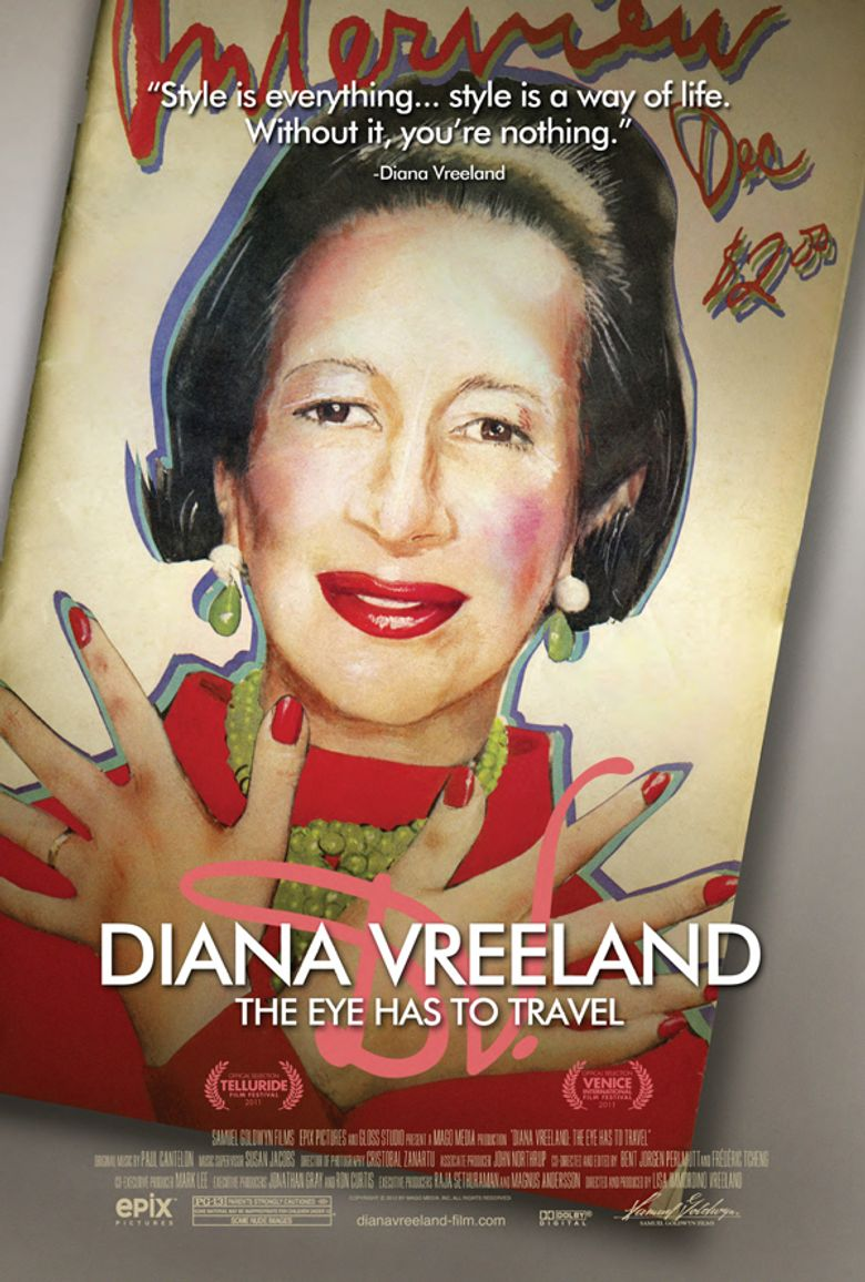 Diana Vreeland: The Eye Has to Travel Poster