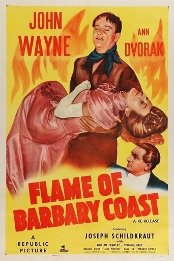 Flame of Barbary Coast Poster