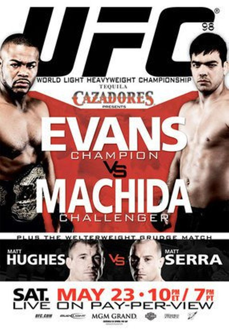 Watch UFC 98: Evans vs. Machida