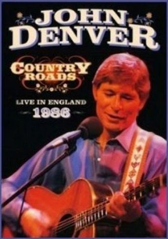 John Denver: Country Roads Live in England 1986 Poster