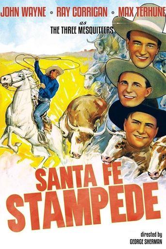 Santa Fe Stampede Poster