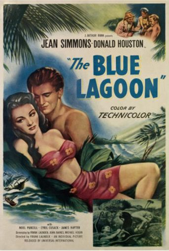 The Blue Lagoon Poster
