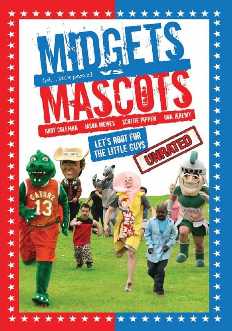 Midgets Vs Mascots Poster