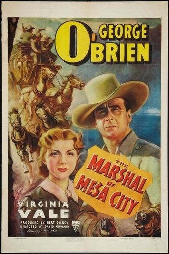 The Marshal Of Mesa City Poster