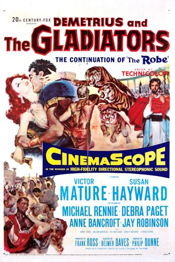 Demetrius and the Gladiators Poster